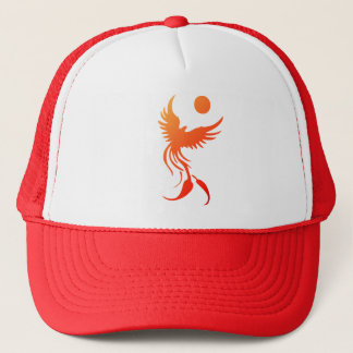 Rising Phoenix in Flames Hat