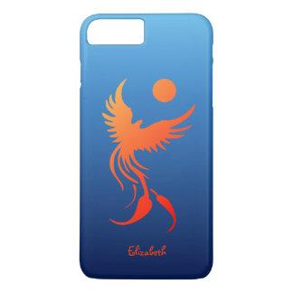Rising Phoenix in Flames Phone Case