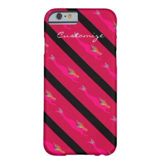 rising pink mermaids red barely there iPhone 6 case