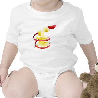 Rising Pound or profits Baby Bodysuit