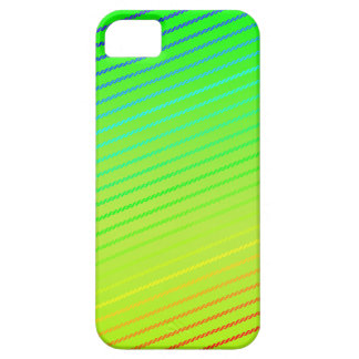 Rising Rainbow 141 Lime - iPhone 5 Case