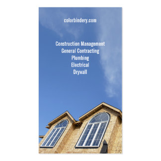 Rising Sky Contractor Business Card