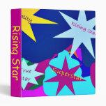 Rising Star 3 ring binder
