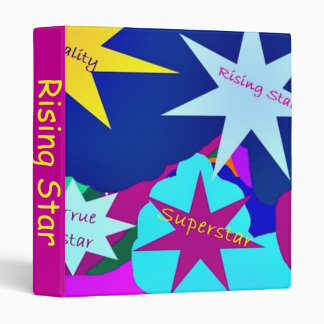 Rising Star 3 ring binder