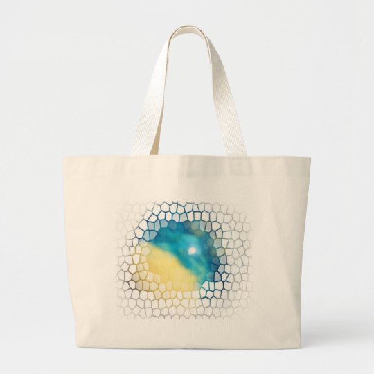 Rising Star Abstract CricketDiane Art & Design Large Tote Bag