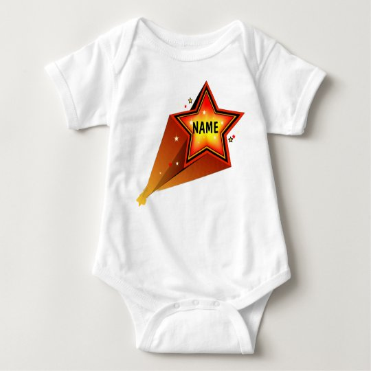 Rising Star Infants T-shirt Template