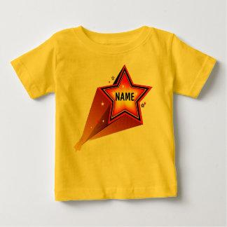 Rising Star  Infants Yellow T-shirt Template