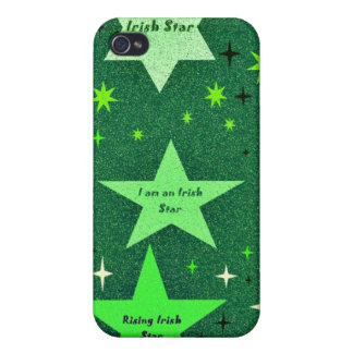 Rising star Irish st patricks day i phone 4 case iPhone 4 Covers