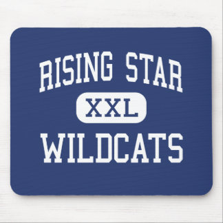 Rising Star - Wildcats - High - Rising Star Texas Mouse Pad