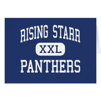 Rising Starr Panthers Middle Fayetteville Cards