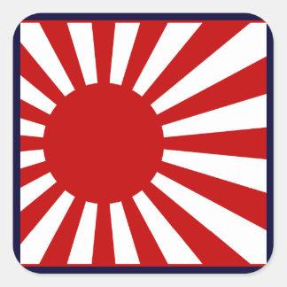 Rising Sun2 Square Sticker