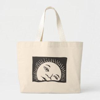 Rising Sun Jumbo Tote Bag