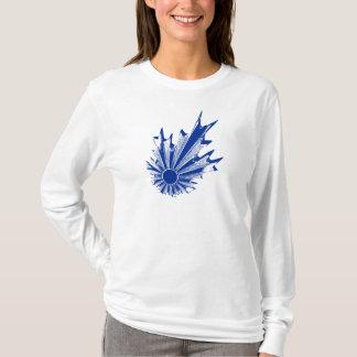 RISING SUN_blue T-Shirt