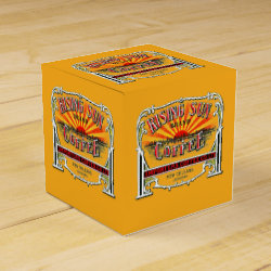 Rising Sun Coffee Favor Box