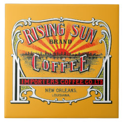 Rising Sun Coffee Trivet