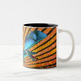 Rising Sun Dragon Coffee Mug