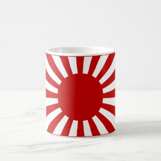 Rising Sun Flag 3 Coffee Mug