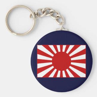 Rising Sun Flag 3 Keychain