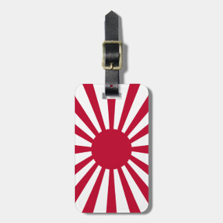 Rising Sun Flag Bag Tag