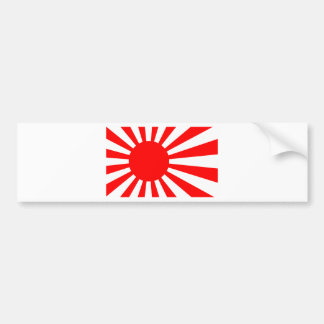 Rising Sun Flag of Japan Bumper Sticker