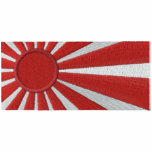 Rising Sun Japanese Flag Embroidered Hoodie