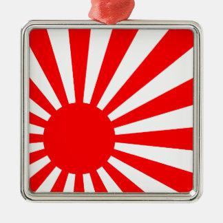 Rising Sun Metal Ornament