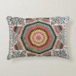 Rising Sun' or 'Star of Bethlehem' Decorative Pillow