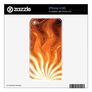 Rising Sun iPhone 4S Decal