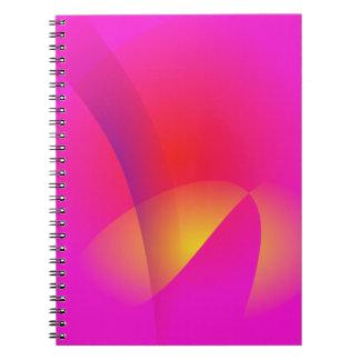 Rising Sun Spiral Note Book