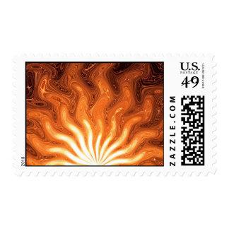 Rising Sun Stamp