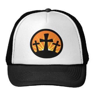 Rising Sun - Three Crosses Cap