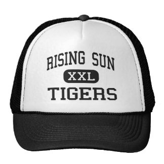 Rising Sun - Tigers - High - North East Maryland Trucker Hat