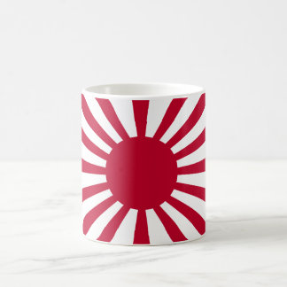 Rising Sun War Flag of the Imperial Japanese Army Classic White Coffee Mug