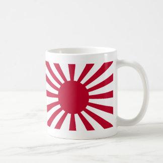 Rising Sun War Flag of the Imperial Japanese Army Coffee Mug