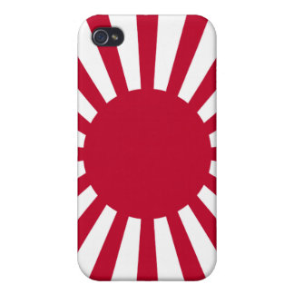 Rising Sun War Flag of the Imperial Japanese Army iPhone 4/4S Covers