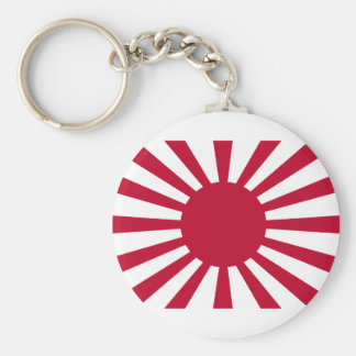 Rising Sun War Flag of the Imperial Japanese Army Keychain