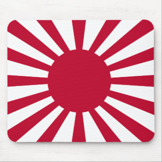 Rising Sun War Flag of the Imperial Japanese Army Mouse Pad