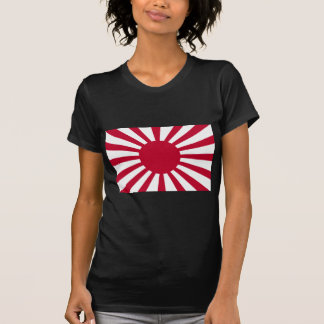 Rising Sun War Flag of the Imperial Japanese Army T-Shirt