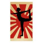Rising Sun Yoga #1 Premium Gold Business Card