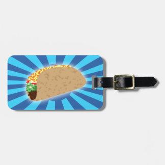 Rising Taco Luggage Tag