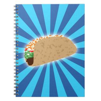 Rising Taco Spiral Notebook