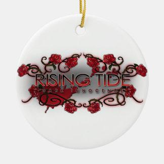 Rising Tide Circle Christmas Ornament