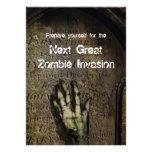 Rising Zombie Halloween Party Invitation