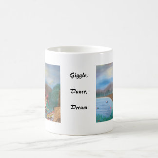 Risita, danza, taza ideal