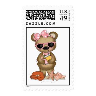 Risitas femeninas del ♥ de la diva del oso de la sellos