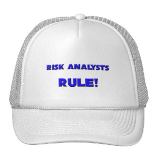Risk Analysts Rule! Hat