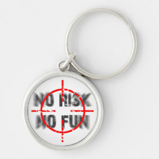 risk and fun keychain