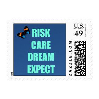 Risk Care Dream Postage Stamp
