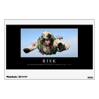 Risk: Inspirational Quote 2 Wall Sticker
