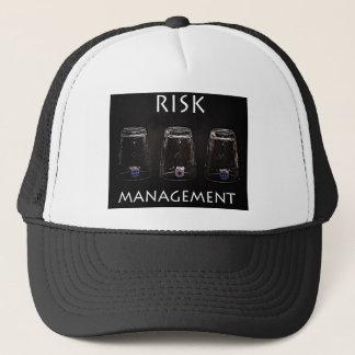 Risk management trucker hat